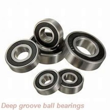 10 mm x 19 mm x 5 mm  skf W 61800 Deep groove ball bearings