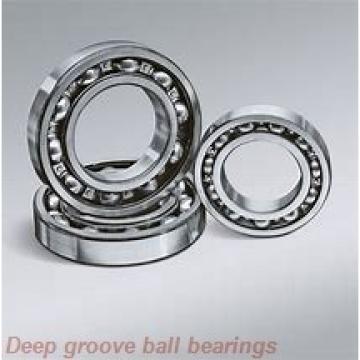 12 mm x 21 mm x 5 mm  skf W 61801-2RS1 Deep groove ball bearings