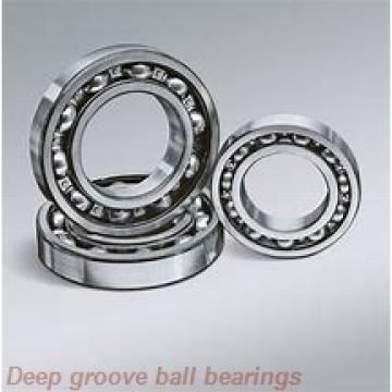 12 mm x 21 mm x 5 mm  skf W 61801 Deep groove ball bearings
