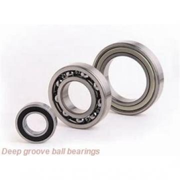 35 mm x 55 mm x 10 mm  skf W 61907-2RS1 Deep groove ball bearings