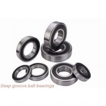 40 mm x 52 mm x 7 mm  skf W 61808 R Deep groove ball bearings