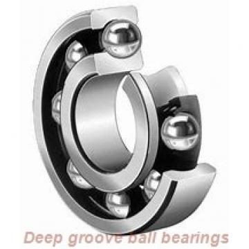 12 mm x 24 mm x 6 mm  skf W 61901 R-2Z Deep groove ball bearings
