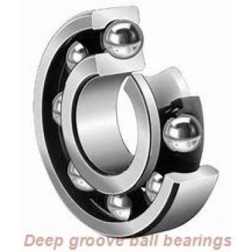 25 mm x 37 mm x 7 mm  skf W 61805 Deep groove ball bearings