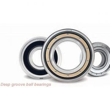 3 mm x 8 mm x 4 mm  skf W 639/3-2RS1 Deep groove ball bearings