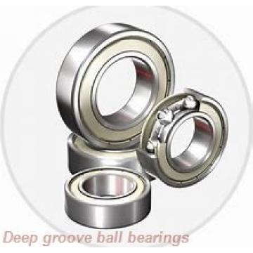 30 mm x 42 mm x 7 mm  skf W 61806 Deep groove ball bearings