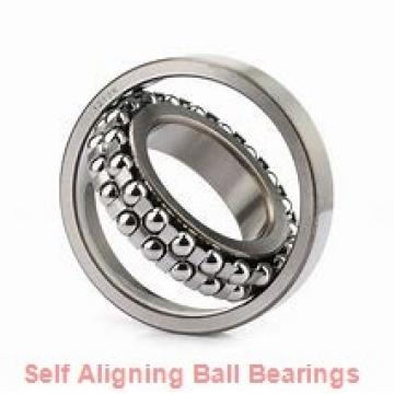25 mm x 62 mm x 24 mm  skf 2305 E-2RS1KTN9 Self-aligning ball bearings
