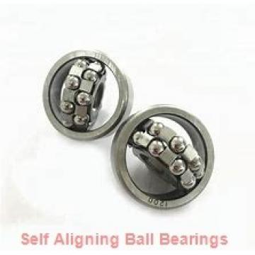 25 mm x 62 mm x 24 mm  skf 2305 E-2RS1TN9 Self-aligning ball bearings