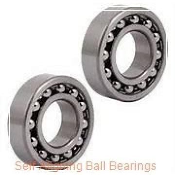 25 mm x 62 mm x 24 mm  skf 2305 E-2RS1KTN9 Self-aligning ball bearings